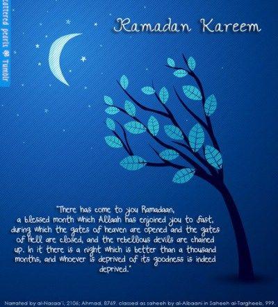 25 top beautiful ramadan greeting cards 2014 cvb pinterest there has come to you ramadan ramadan kareem greeting card 2013 m4hsunfo
