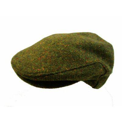 1556c5ca5bd10 John Hanly   Co. Irish Tweed Flat Cap - Green Donegal Fleck
