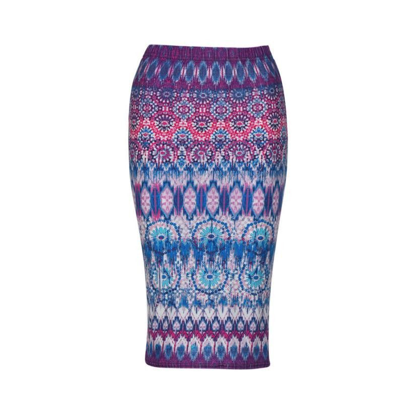 Bohemian Style Pencil Skirts