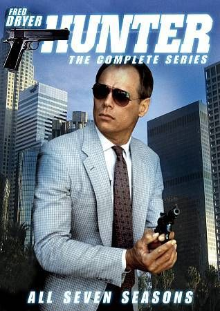 Hunter: The Complete Series All 7 Seasons 28 DVD Set Fred Dryer RARE