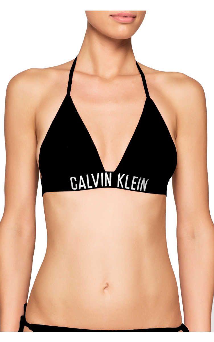 1cc039fd45 Bikiniöverdel Triangle Bikini Top BLACK - Calvin Klein - Designers - Raglady