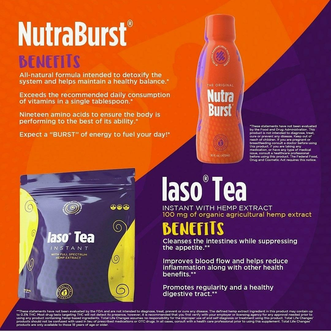 Nutra Burst And Cbd Tea In 2020 Iaso Tea Total Life Changes Health And Wellness