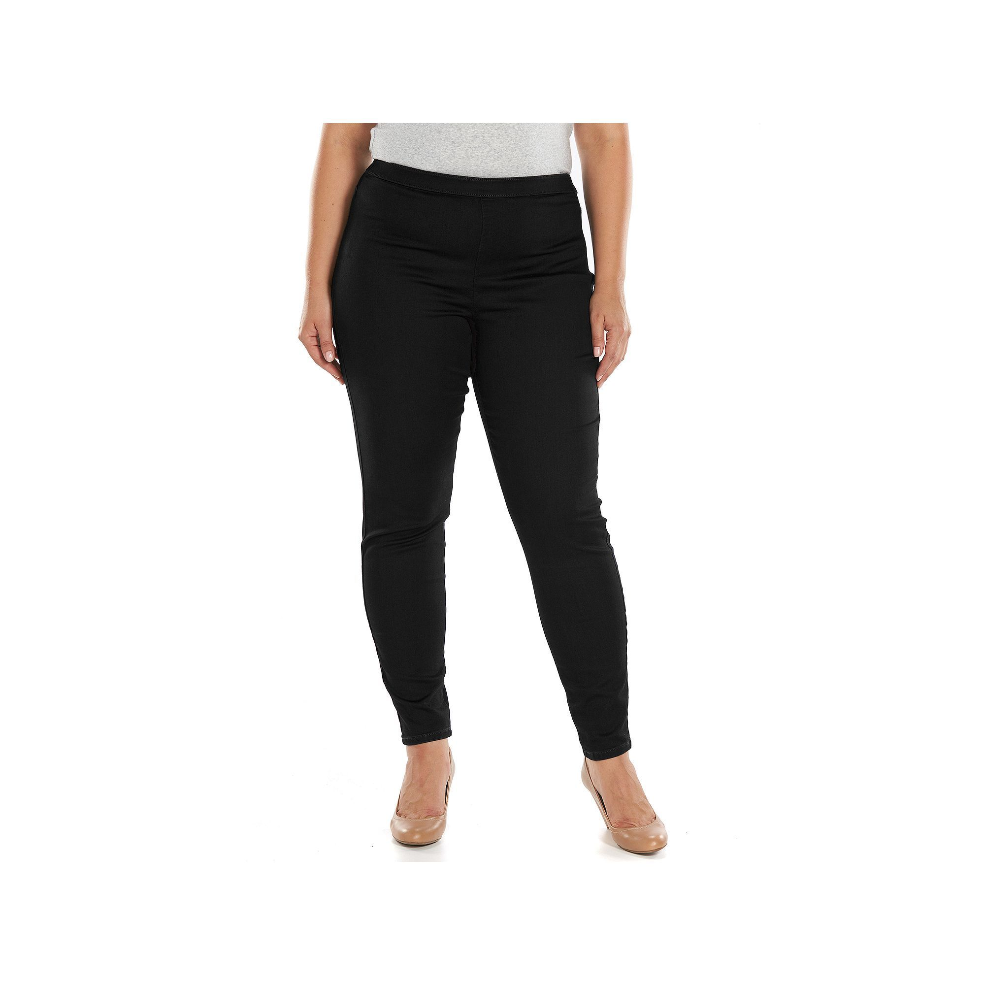 3a02b70a29e Plus Size Jennifer Lopez Skinny Jeggings