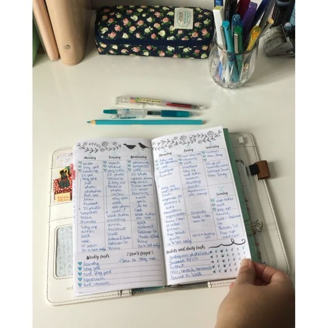 Last 2 weeks on my planner. I miss having time to decorate my pages, it's so…