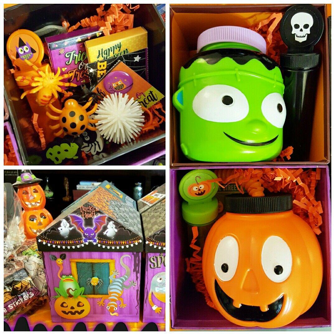 Halloween Kids Goodie Box DIY trick or treat box