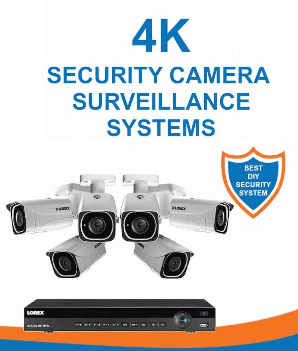 Security And Surveillance Systems Camera Surveillance System Diy Security System Surveillance System