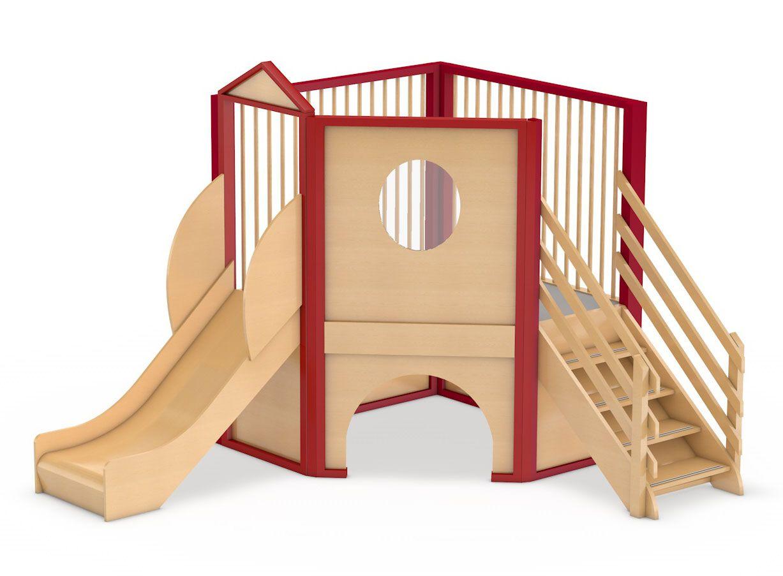 Spielburg Berti 12 Rutsche Kinderzimmer Spielflachen Und