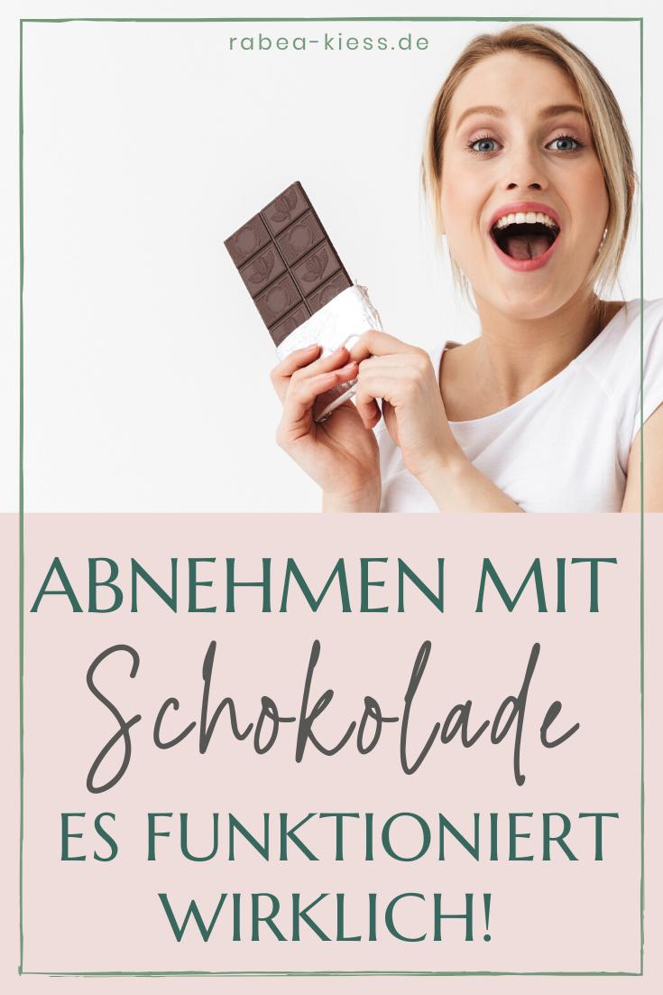 welche schokolade hilft beim abnehmen