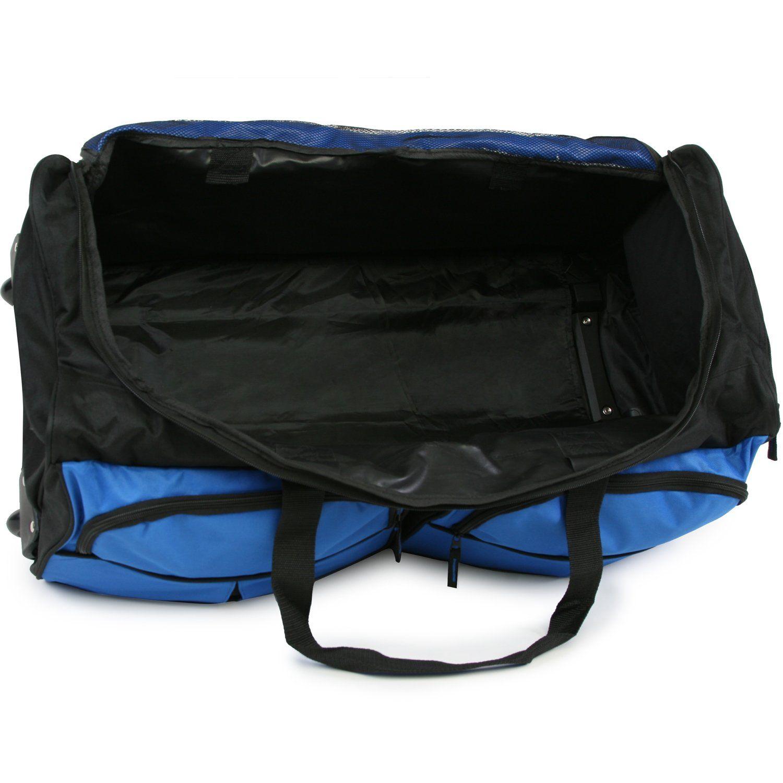 Pacific Coast Signature 30 Large Rolling Lug Duffel Bag Cobalt -- Visit the  image link more details. (Note Amazon affiliate link) cae1806736