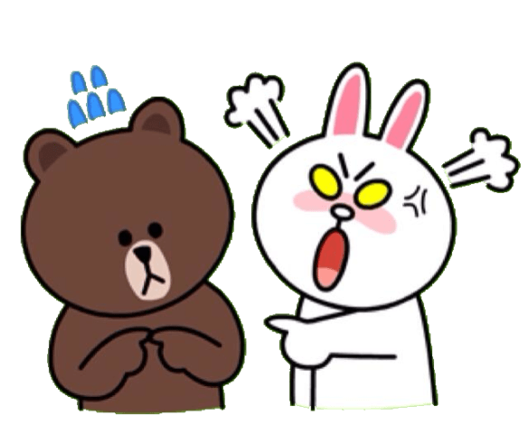 Line Stickers Craze Aldora Muses Cute Bear Drawings Line Sticker Cute Love Gif