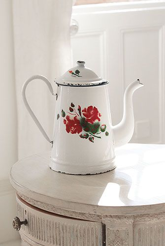 Vintage french coffee pot #coffeepots