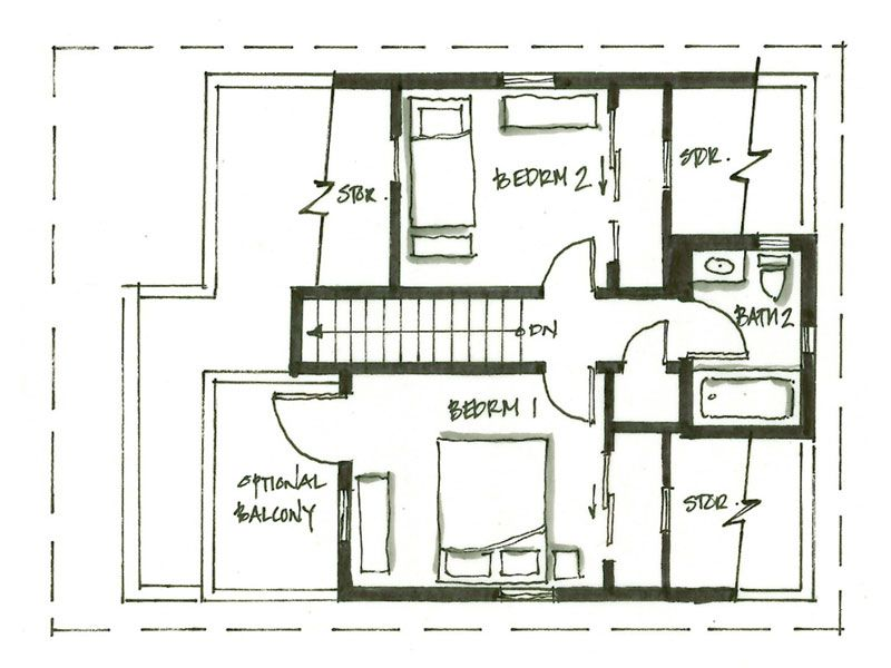 13bf8969b73331e8ce381be8c8e167df smallworks custom small homes & laneway houses in vancouver,Lane House Floor Plans