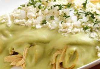 Enchiladas de aguacate