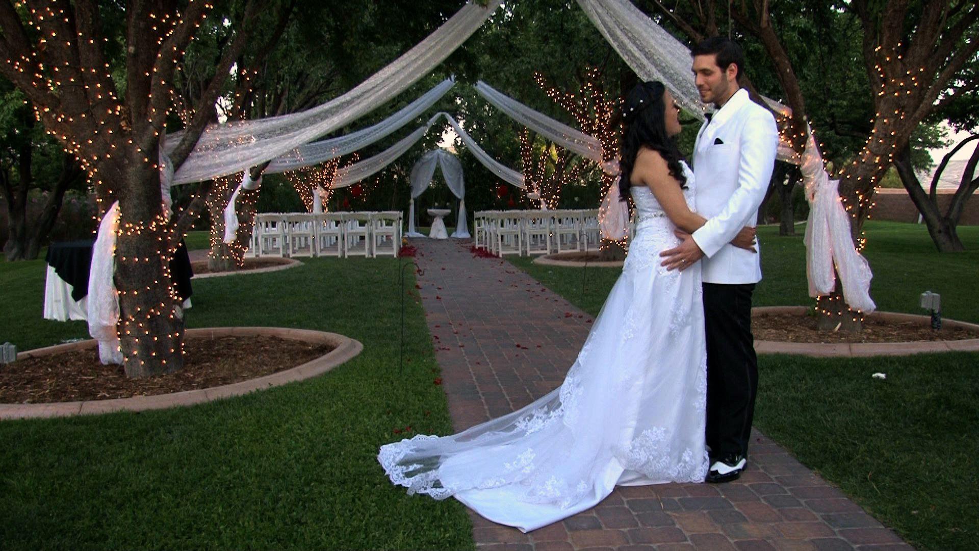 Cecilia & Matt at The Grove in Las Vegas. Las vegas