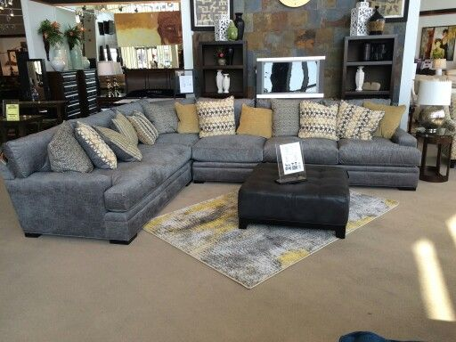 Palm Springs Sectional I Would Change The Pillows So