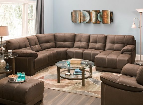Excellent Castin 4 Pc Microfiber Sectional Sofa Sectional Sofas Ibusinesslaw Wood Chair Design Ideas Ibusinesslaworg