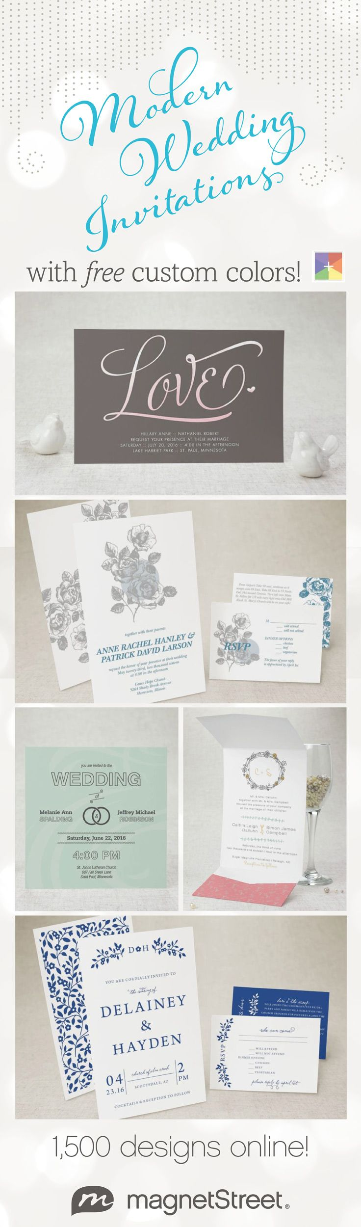 Lots of new Wedding Invitations designs to choose from! Plus you can ...