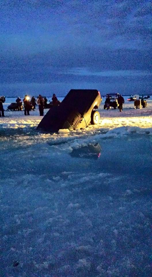 Truck, Woman Fall Through Ice At Houghton Lake's Tip-Up
