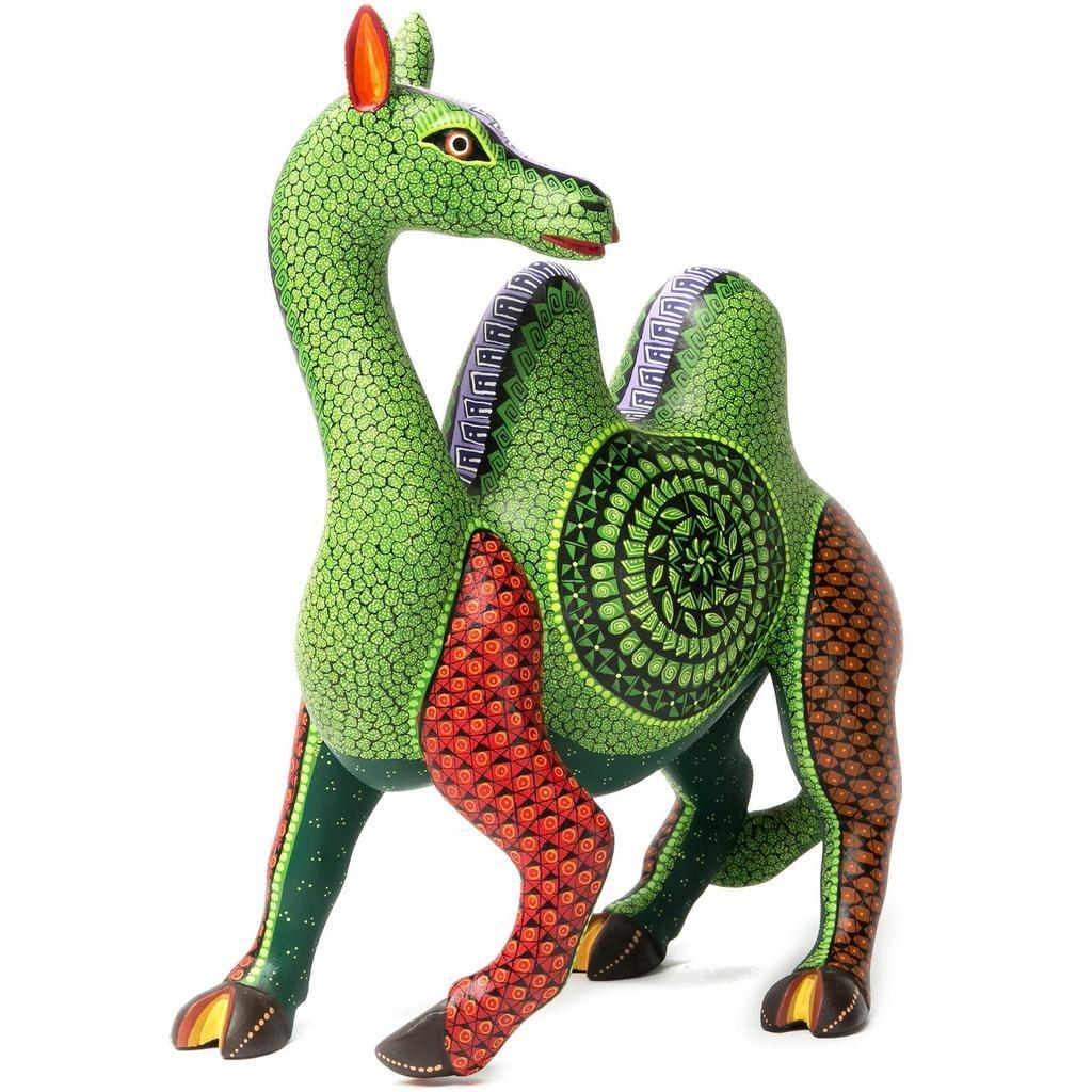 Alegria del Desierto Woodcarving Alebrije Mexican Folk Art