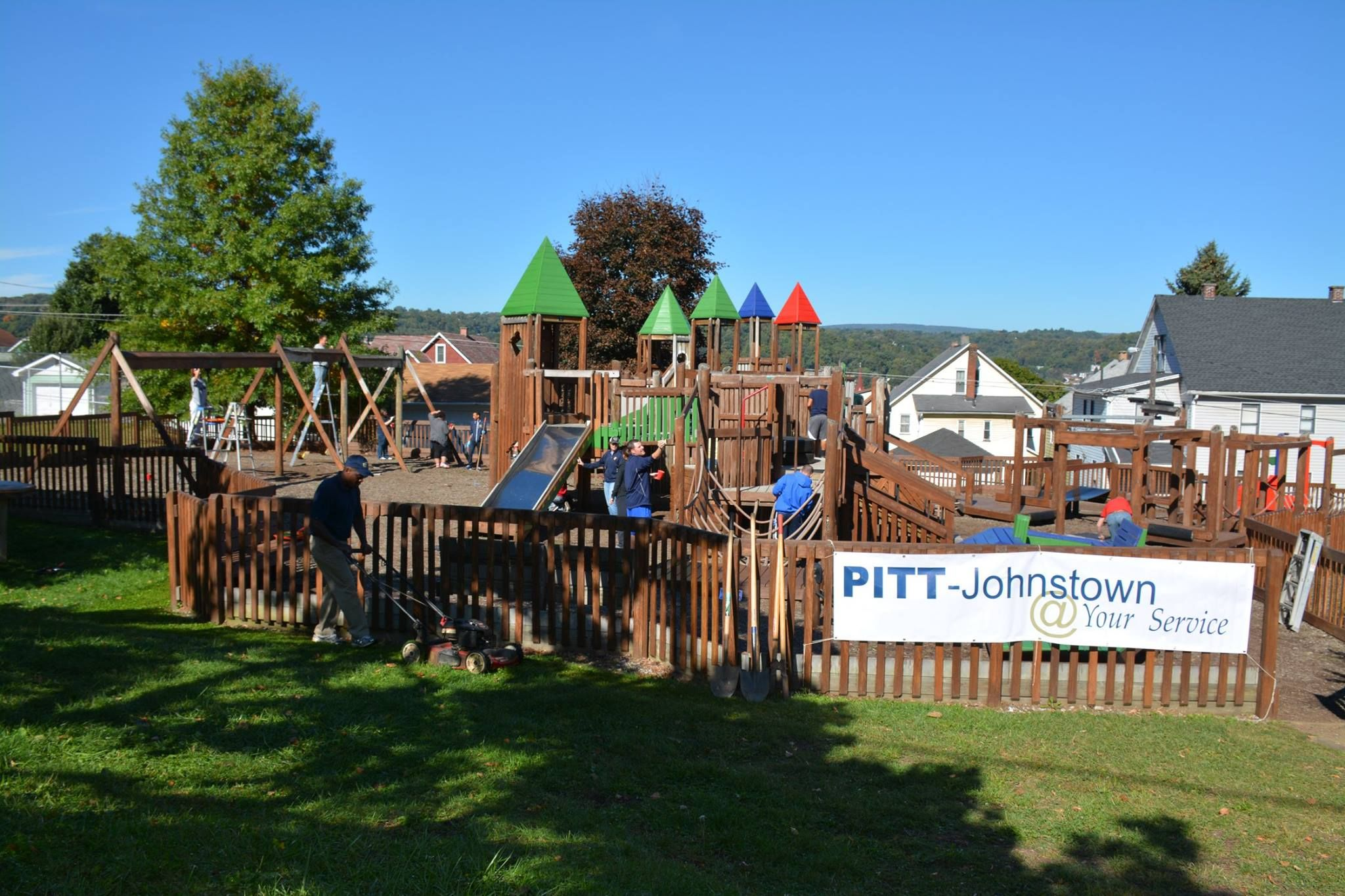 PittJohnstown Community service project features the