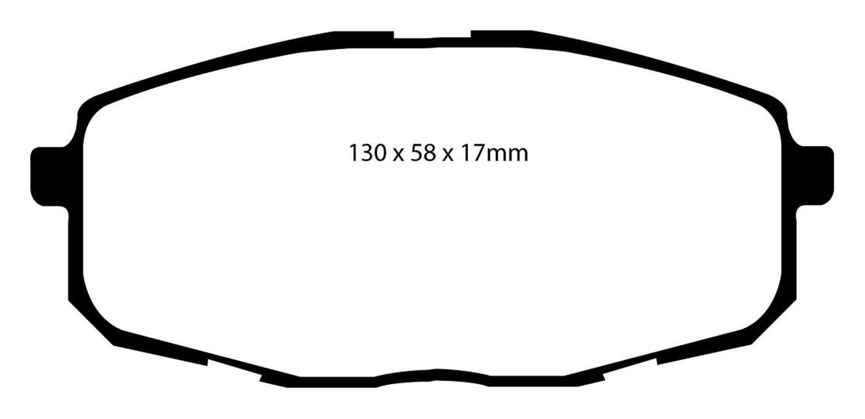 Ebc Redstuff Ceramic Brake Pads Kia Forte Forte Koup 2 0l 2 4l 2010 2013 Front Or Rear In 2021 Brake Pads Ceramic Brake Pads Ceramic Brakes