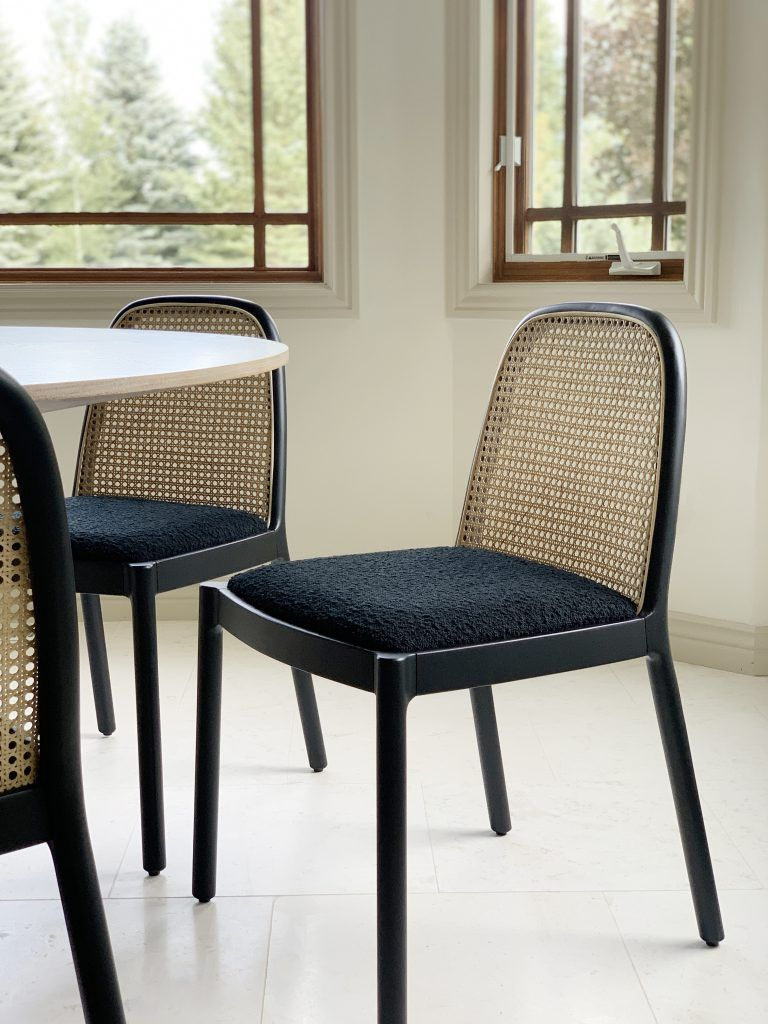 Our New Caned Dining Chairs Are Here Eames Appartement Et Salon