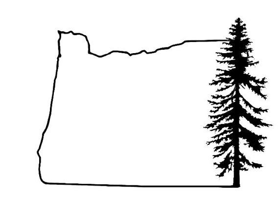 Oregon car decal by oregondecal on etsy