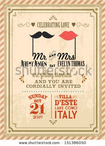 vintage wedding invitation designs - Buscar con Google | Wedding ...