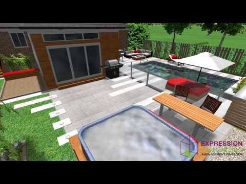 ▷ Expression Plan Design - Plan d\'aménagement extérieur - YouTube ...