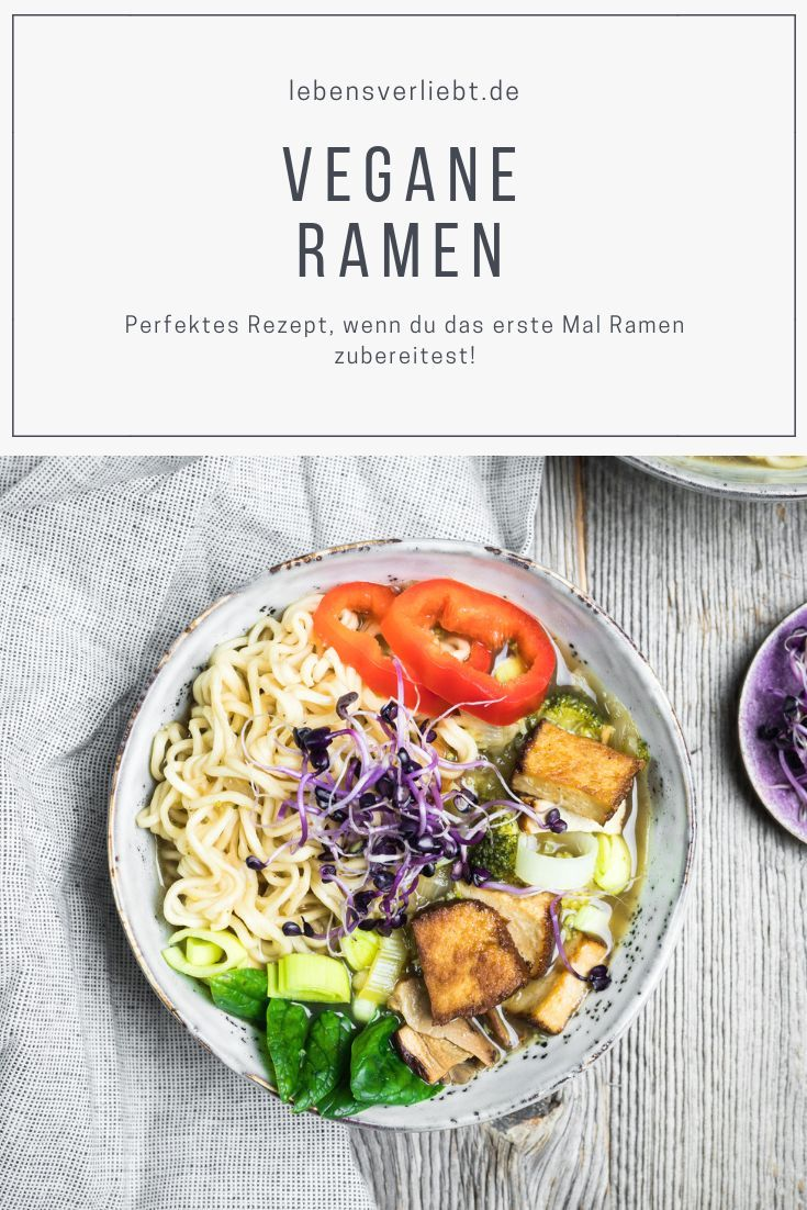 Vegane Ramen #ramensuppe