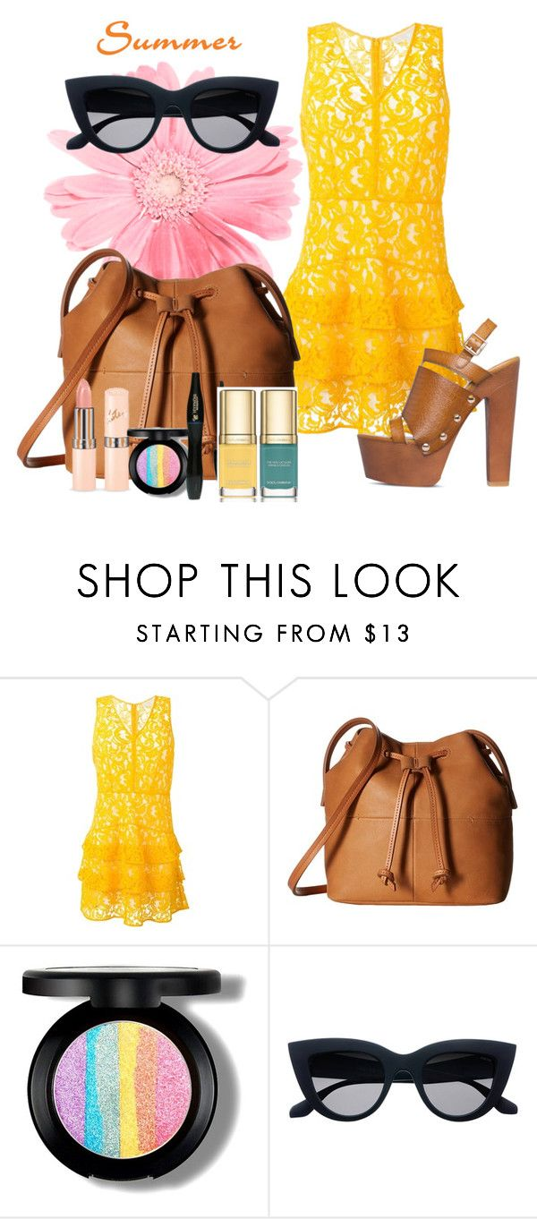 """😊"" by triciapigeontonkins ❤ liked on Polyvore featuring MICHAEL Michael Kors, ECCO, Lancôme and Dolce&Gabbana"