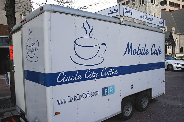Circle City Coffee Mobile Food Truck Food truck, Mobile