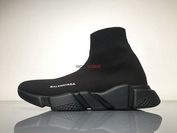 3606e377dfc9 Balenciaga SPEED TRAINER Stretch knit trainer with black textured sole 220  Women And Men Sneaker