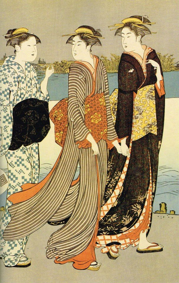 UKIYO - E.....BY TORII  KIYONAGA.....PARTAGE OF ARTIST SALON OF JAPAN.....ON FACEBOOK.............