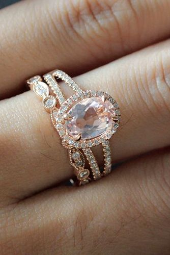 24 Rose Gold Engagement Rings That Will Make You Blush Rose Gold