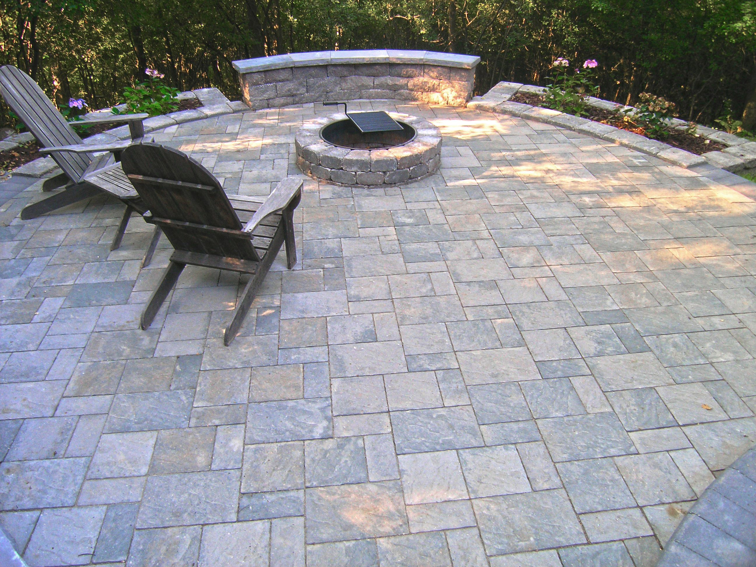 25 Great Stone Patio Ideas for Your Home | Stone patios, Stone patio ...