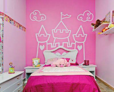 Resultado de imagen para decoracion de cuarto para ni as - Decoracion paredes habitacion nina ...