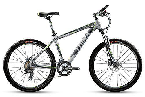 Trinx M600 Mountain Bike 26 17 24 Speed Gray Green Review