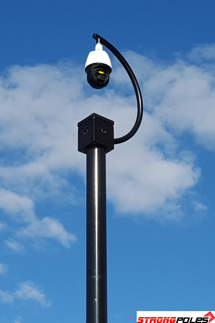 8 X 10 Mounting Platform Birdhouse Strong Poles Security Camera Installation Security Fence Shipping Container Home Designs