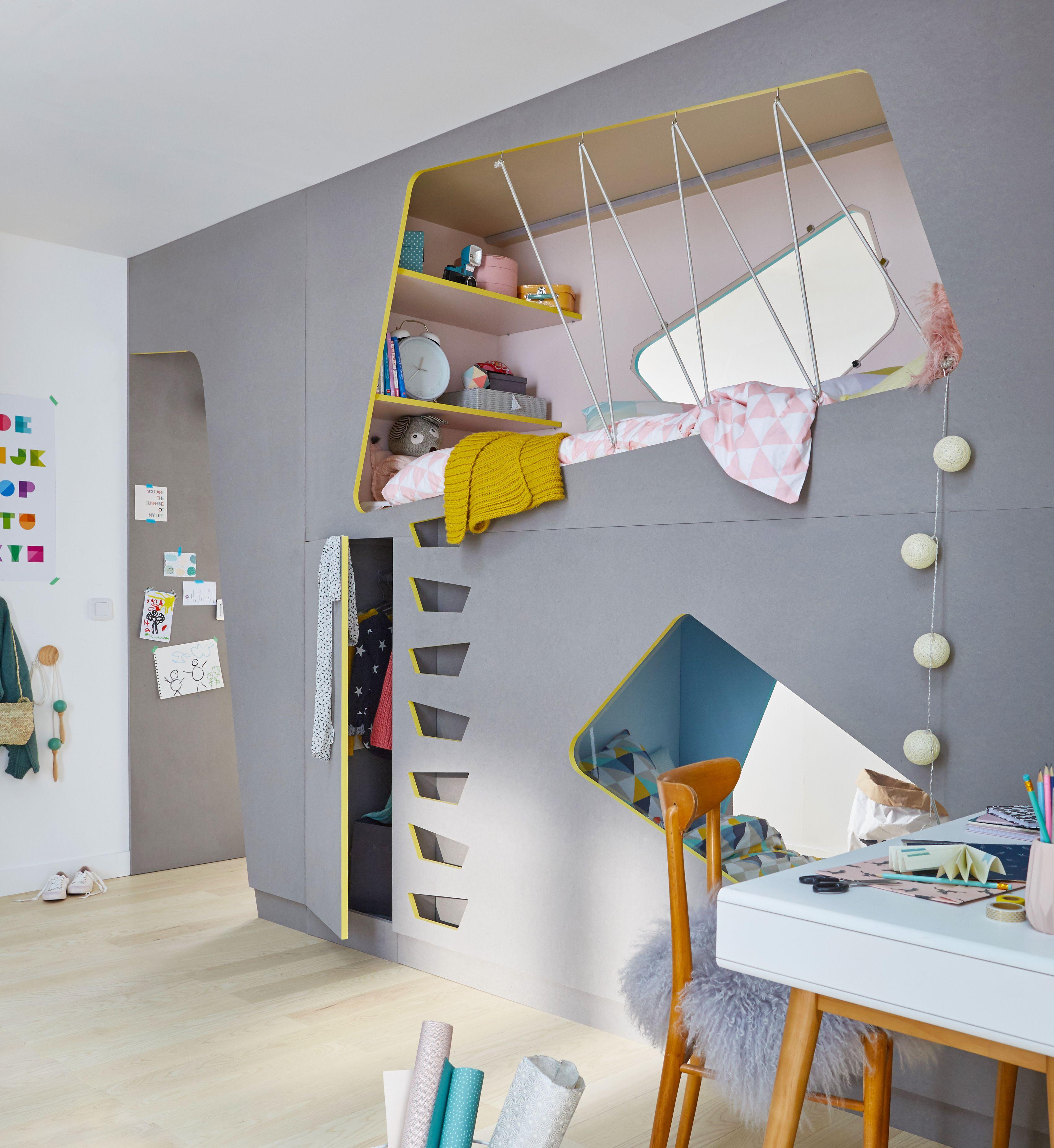 Une chambre d enfant aux couleurs pastel