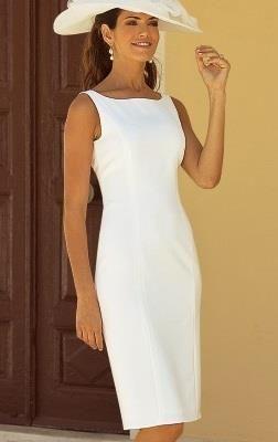 1ab525ccf35 Белое платье футляр