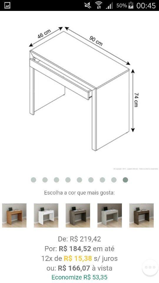 Medidas E Precos Escrivaninha Escrivaninha Mdf Modelos De