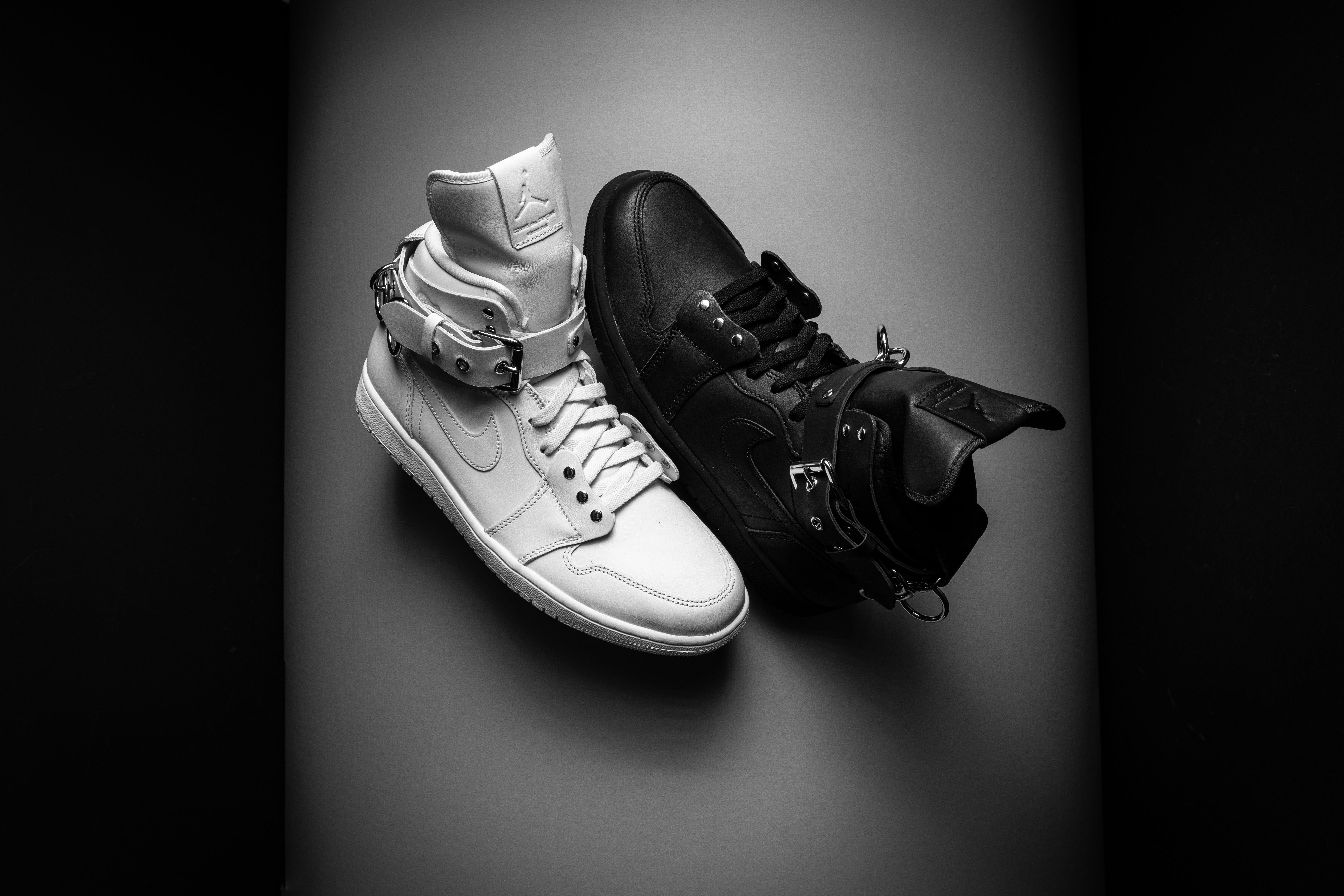Comme des Garçons takes the Air Jordan 1 to delirious new