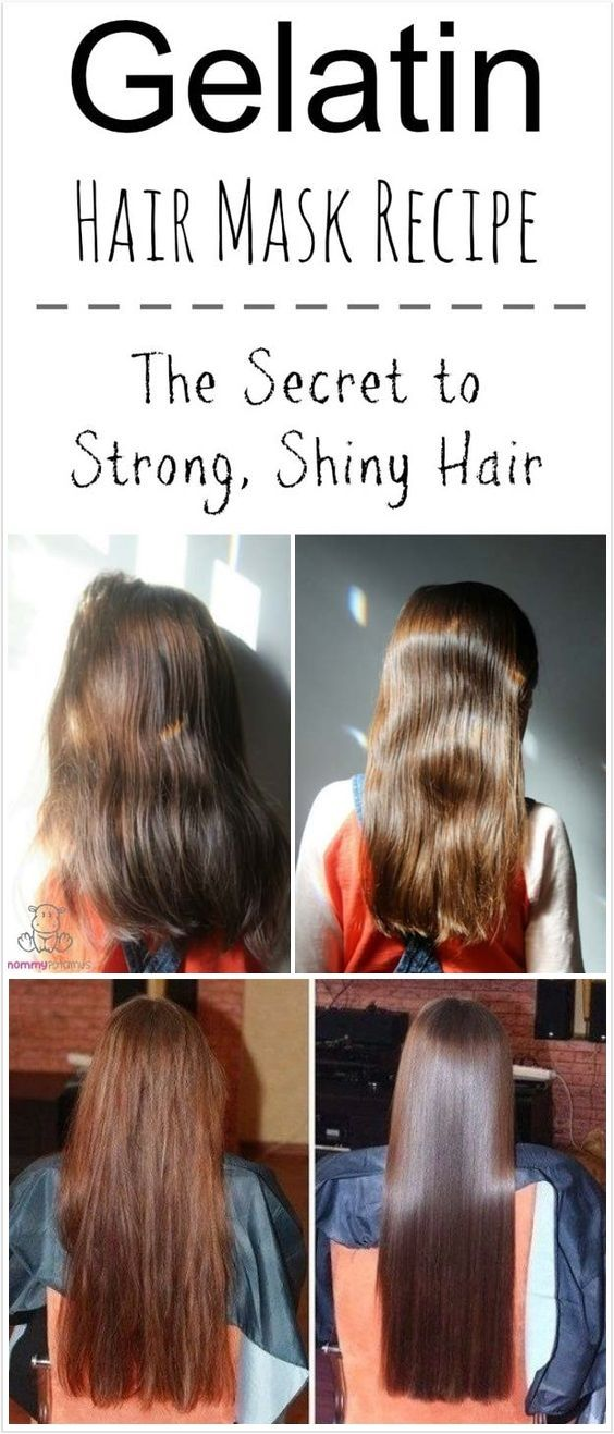 Gelatin Hair Mask The Secret To Soft Strong Shiny Hair