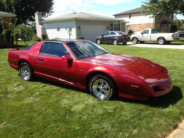 Make Pontiac Model Firebird Year 1991 Body Style Sports Cars Exterior Color Burgundy