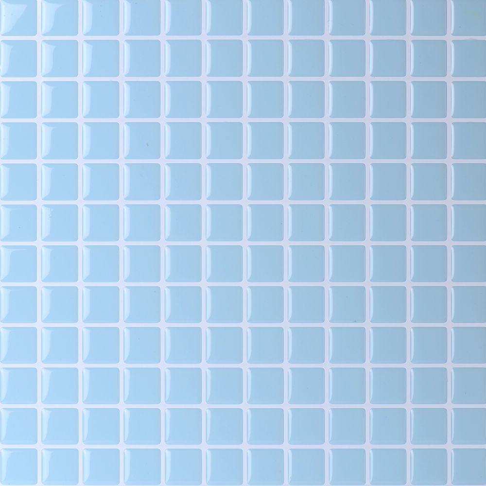 Lowes Kitchen Backsplash Red Mosaic Tiles Home Decor Stickers Stick On Tiles Stick Tile Backsplash Peel And Stick Wallpaper