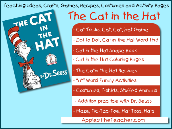 Cat In The Hat Teaching Ideas