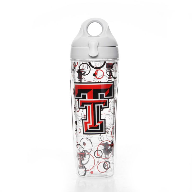 Texas Tech Red Raiders Tervis 24oz. Bubble Up Water Bottle