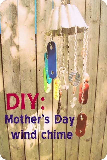 Diy Thursday Mother S Day Windchime Windchimes Diy Mother S