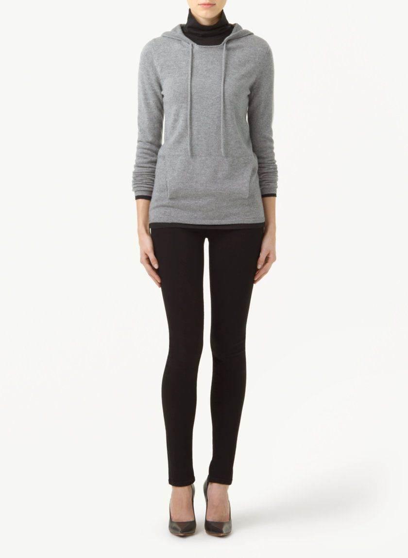T. BABATON TATUM SWEATER - The ease of a hoodie with the luxury of wool and cashmere